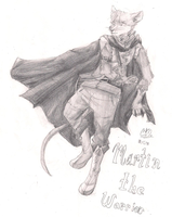 Martin the Warrior of Redwall by There-She-Is-Fan