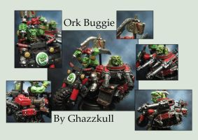 Scratch-built Ork Buggie by Dgs-Krieger