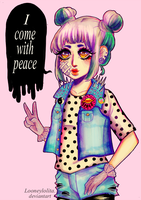 I come with peace by LooneyLolita