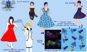 Dress design concepts by lucy-fur