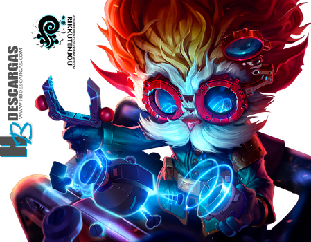 Heimerdinger Render League of Legends by HBDescargas