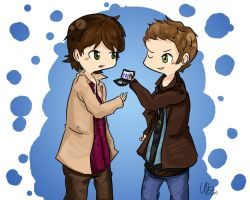 Winchesters FBI by belle2908