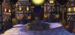 In the land of Halloween itself by CjLowery