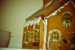 Gingerbread House II by scribbleXcore