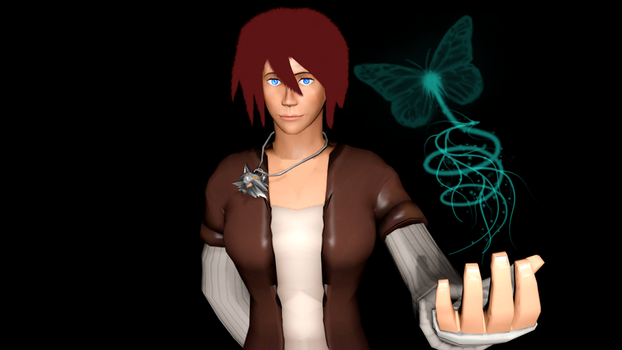 Magic Hands Butterfly (SFM) by jtr14ph