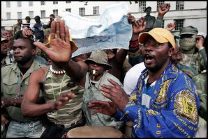 Congolese protest by JamesBardolph