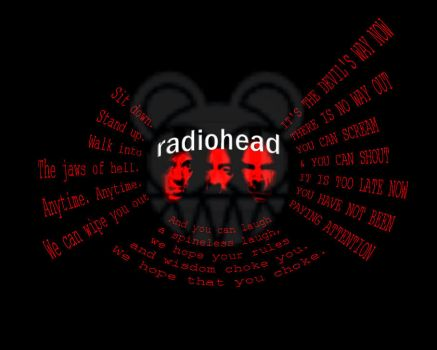 Radioheads and Words by smokedphish