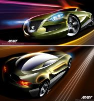 Peugeot Design Conest Entry 2 by husseindesign