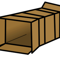 Quirky Sliding Into a Box by Secret-Asian-Man