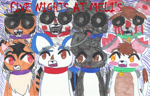 FIVE NIGHTS AT MELI'S.... by Meli-chan3