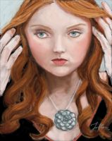 Red Head by Joflor