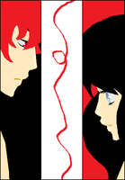 Red String by WhisperingKage