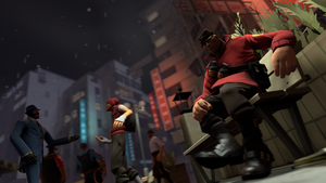 Lost in the crowd. [SFM] by Wojak1991
