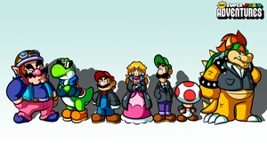 NSMA Promo Wallpaper (Koopa in the Shell) by Danny8bit