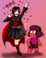 Ruby and Ruby by AliAvian