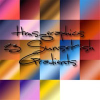 23 Sunset-ish-y Gradients by graphicdump