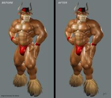 Before and After again by BRAFORD