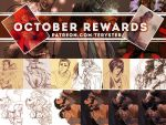 PATREON OCTOBER REWARDS PREVIEW by Teryster
