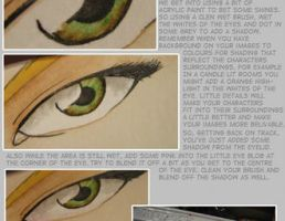 Watercolour eye Tutorial by gurukitty