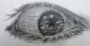 eye drawing by miscellaneous-art