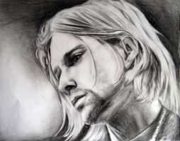 Kurt Cobain II by sunshine-07