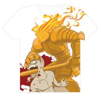 T-Shirt Design 'Doom on The Old Serpent' by Sherapim