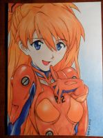 Asuka Langley Soryu by Dxtrn