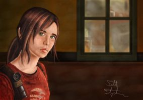Ellie....The Last of Us by nsohio44890