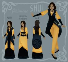 Shui - TS sheet - lvl4 Jasmine by monikoko
