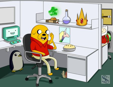 Jake from State Farm by TripleS-Art