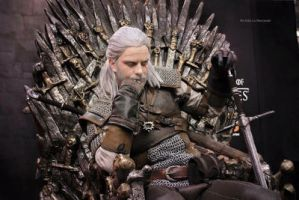 King Geralt of rivia by Zephon-cos