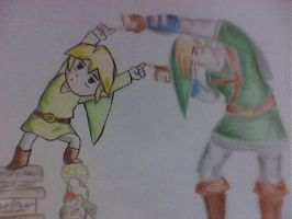 TLOZ Skyward sword by karataos