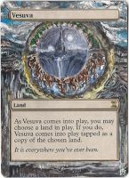 Magic Card Alteration: Vesuva by Ondal-the-Fool