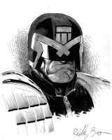 Judge Dredd by ReillyBrown