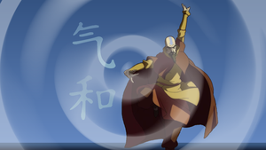 Tenzin Defender of the Faith by Sparky242