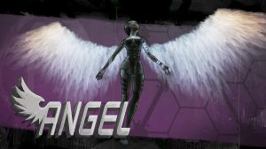 Angel Borderlands 2 by BL4UPUNKT