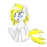 ::COM:: cute sitting pony for Isacc20 by TemmyMcnugget