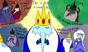The Ice King Clones by Liberty-Primes