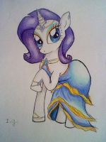 Rarity in a dress by Ivanayandere
