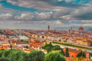 Roofs of Florence by olideb08