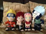 Naruto Plushies by TumbleZee