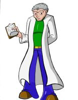 Bill the Scientist Colored by neyola298
