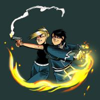 Roy and Riza snap to it by damnskippy