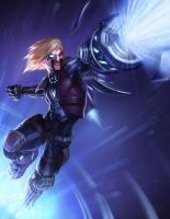 Ezreal League of Draven! by armice