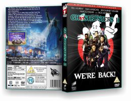 Ghostbusters 2 custom cover by BrotherTutBar