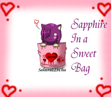 COMM: Sapphire In a Sweet Bag by Sakura123Cha