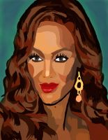 Tyra Banks No Pen And Coloer 3 by daylover1313