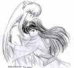 Egypt love Inuyasha and kagome by usagisailormoon20