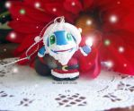 Santa Fizz Christmas Ornament by Thekawaiiod