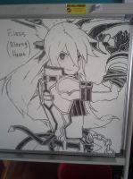 Second time on drawing on whiteboard :D by FireWeaver360